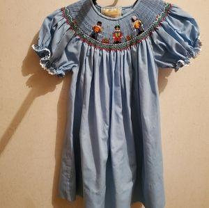 Other - Nutcracker smocked dress